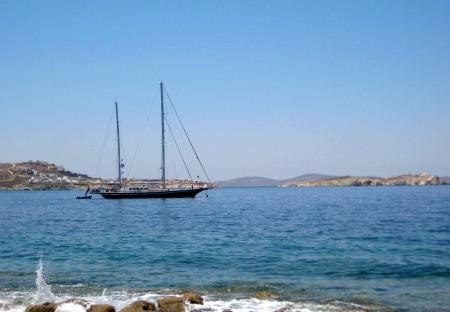 Copy of Boat at Sea