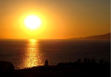 Copy of Mykonos Sunset 2