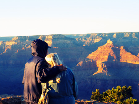 Mom & Saul Grand Canyon