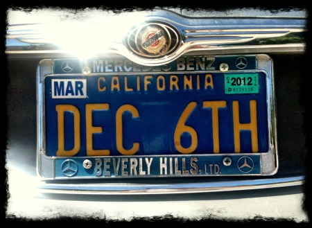 Copy of Dec 6 License Plate