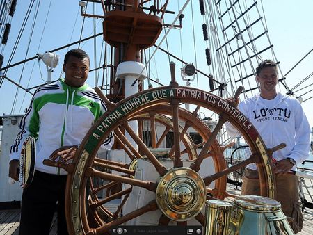 Robin Soderling Jo-Wilfried Tsonga Estoril.11 Naval Ship 3