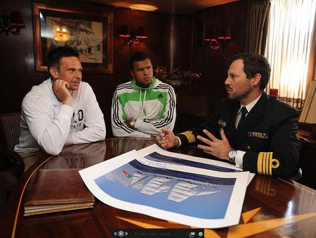 Robin Soderling Jo-Wilfried Tsonga Estoril.11 Naval Ship 4