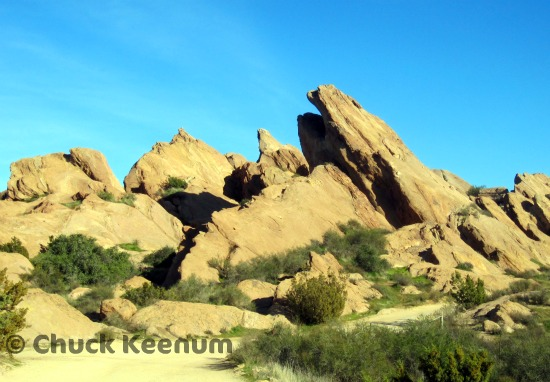 Vasquez Rocks - Lens Angeles