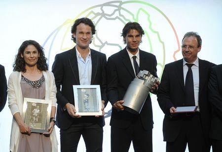 Rafael Nadal Samaranch Award 2011