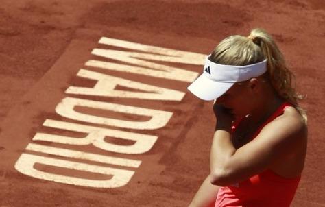 Caroline Wozniacki Madrid.11 3rd R Loss r