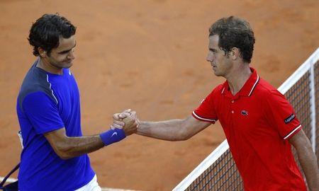 Richard Gasquet Roger Federer Rome.11 R16