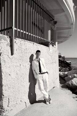 Novak Djokovic Vogue Photo