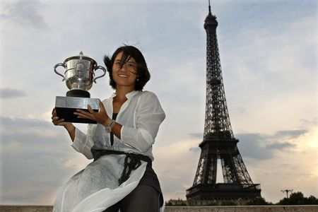 Li Na RG.11 Eiffel Tower