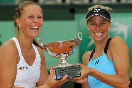 Lucie Hradecka Andrea Hlavackova RG.11 Women's Dubs Winners