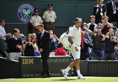 Roger Federer Wimbledon.11 1st R Win g