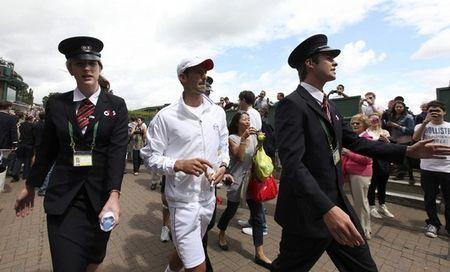 Novak Djokovic Wimbledon.11 On the Grounds r