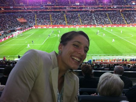 Andrea Petkovic World Cup 2011