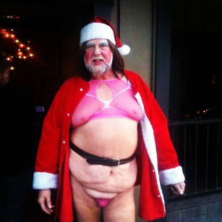 Ricky as Santa