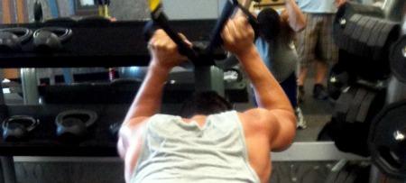 Sammy at the Gym