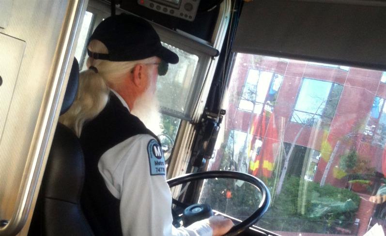 Santa Bus Driver