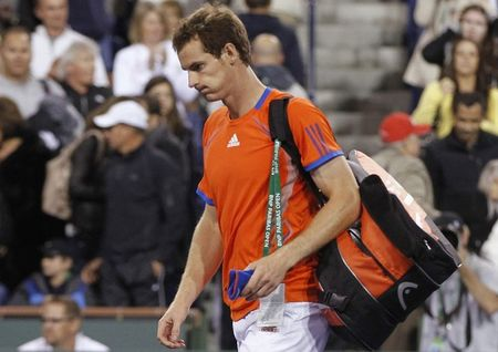 Andy Murray Indian Wells 2012 2nd R Loss r