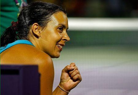 Marion Bartoli Miami 2012 Qf Win 2012