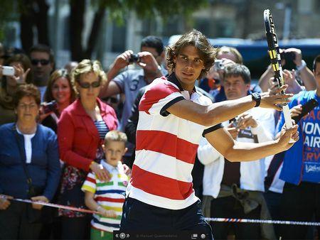 Rafael Nadal Barcelona 2012 Sagrada Familia Exo 1