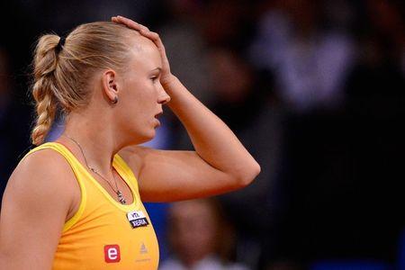 Caroline Wozniacki Stuttgart 2012 Early Loss g