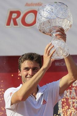 Gilles Simon Bucharest 2012 Winner g