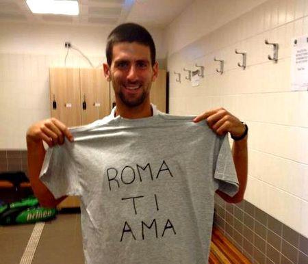 Novak Djokovic Rome 2012 Post Qf Win fb