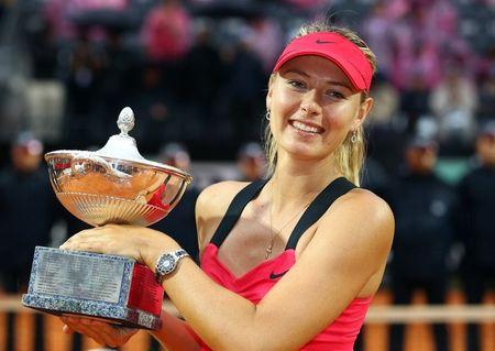 Maria Sharapova Rome 2012 Winner g