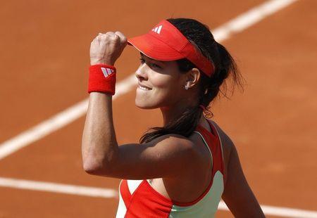 Ana Ivanovic Roland Garros 1st R Win g