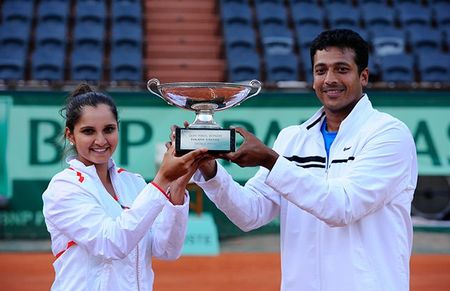 Mahesh Bhupathi and Sania Mirza Roland Garros Mixed Doubles Winners fft
