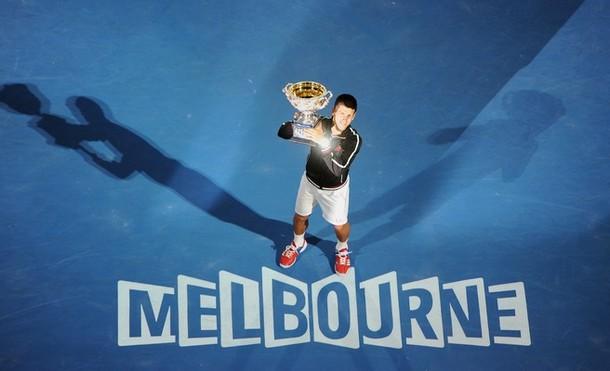 Novak Djokovic AO.12 Winner g