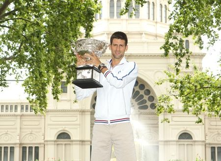 Novak Djokovic AO.12 Trophy Shoot g