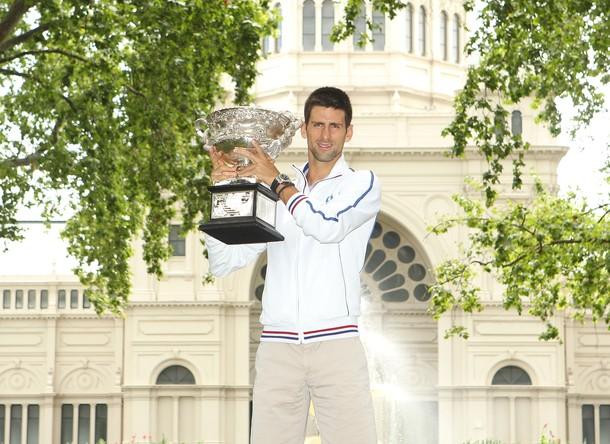 Novak Djokovic AO.12 Trophy Shoot g