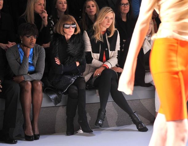 Maria Sharapova NYC Fashion Week 2012 2 g
