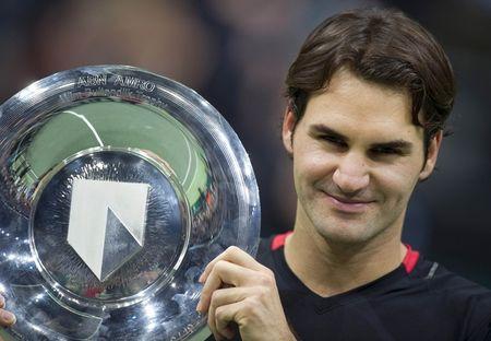 Roger Federer Rotterdam.12 WInner r