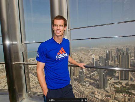 Andy Murray Dubai 2012 atp