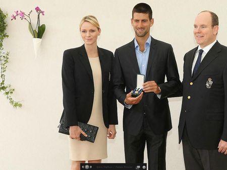 Novak Djokovic Monte-Carlo 2012 Medal of Vermeil