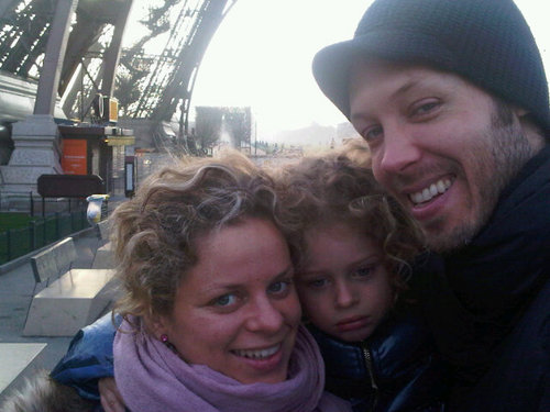 Kim Clijsters and Family - Twitter Profile Pic