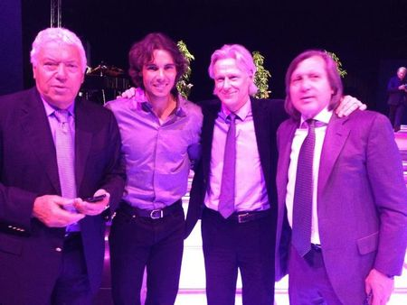 Rafael Nadal Monte-Carlo 2012 with Legends