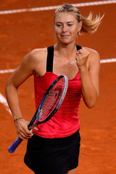 Maria Sharapova Stuttgart 2012 Sf Win g
