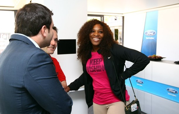 Serena Williams Rome 2012 Ford Suite g