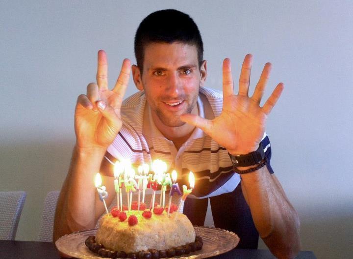 Novak Djokovic Turns 25