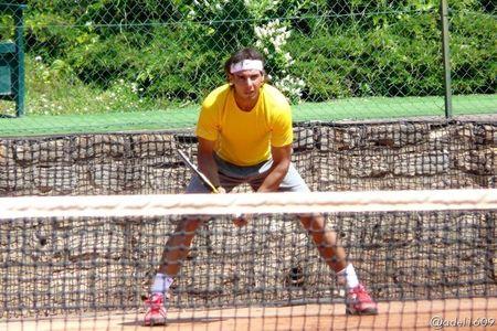 Rafael Nadal Roland Garros 2012 Practice 1