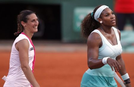 Serena Williams Virginie Razzano Roland Garros 2012 1st R g