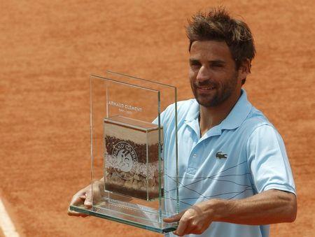 Arnaud Clement Roland Garros 2012 Career Award