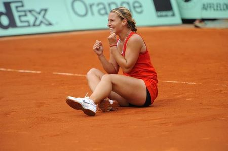 Dominika Cibulkova Roland Garros 2012 4th R Win
