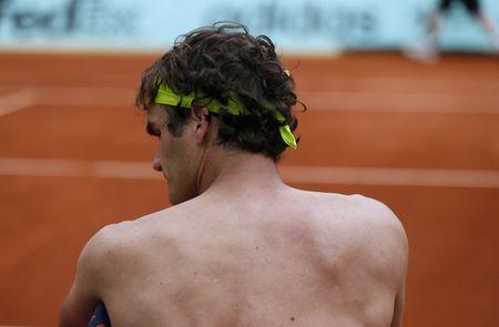 Roger Federer Roland Garros 2012 4th R Win g