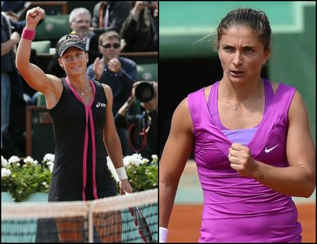 Samantha Stosur & Sara Errani Roland Garros 2012 Qf Winners g
