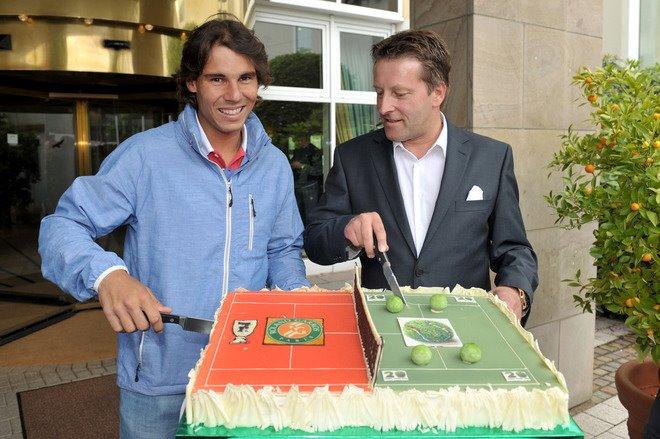 Rafael Nadal Halle 2012 Arrival