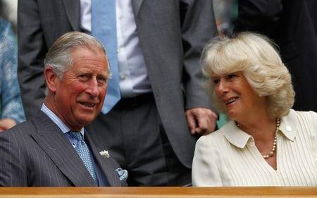 Prince Charles & Camilla Wimbledon 2012 g