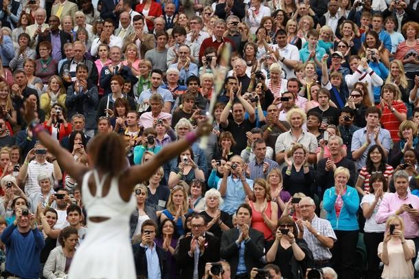 Serena Williams Wimbledon 2012 Qf Win g