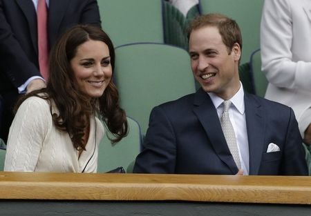 Prince William & Kate Wimbledon 2012 Qf ap